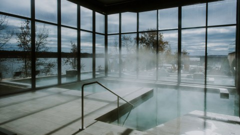 Lemay Michaud designs minimal Strøm Nordic Spa in Quebec City|Lemay Michaud在魁北克市設計了最小的StrømNordicSpa
