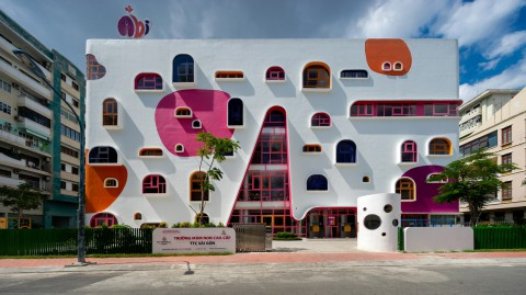 Kientruc O designs colourful kindergarten in Ho Chi Minh City|Kientruc O在胡志明市設計了色彩繽紛的幼兒園