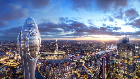 Foster + Partners Tulip tower plans nipped in the bud by mayor of London |Foster + Partners鬱金香塔計劃由倫敦市長扼殺在萌芽狀態