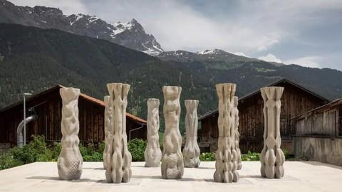 Future concrete | Cool 3D printing column 未來混凝土 | 超酷3D打印立柱