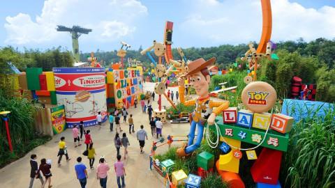 Hong Kong Disneyland – Toy Story Land 香港迪士尼樂園 – 玩具總動員