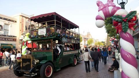 Hong Kong Disneyland – Main Street Vehicles 香港迪士尼樂園–小鎮大街古董車