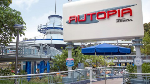 Disney California Adventure – Autopia 迪士尼加州冒險樂園– Autopia