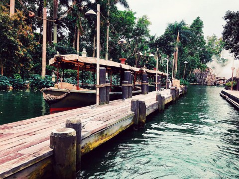 Hong Kong Disneyland – Jungle River Cruise 香港迪士尼樂園 – 森林河流之旅