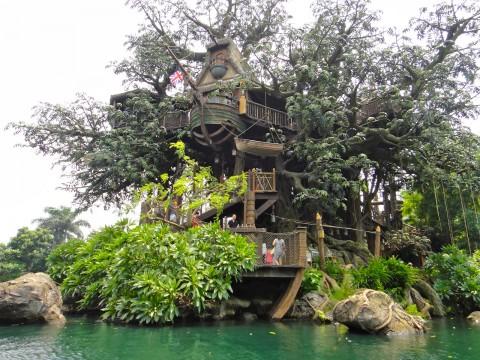Hong Kong Disneyland – Tarzan's Treehouse 香港迪士尼樂園–泰山的樹屋