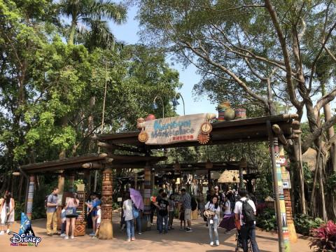 Hong Kong Disneyland – Karibuni Marketplace 香港迪士尼樂園-加利布尼市集