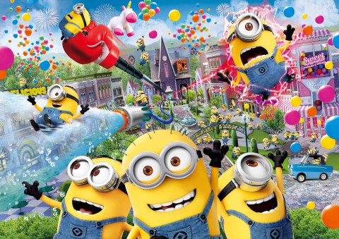 Universal Studios Japan – Despicable Me Minion Mayhem 日本環球影城–小小兵瘋狂乘車遊