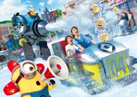Universal Studios Japan – Freeze Ray Sliders 日本環球影城 – 冰凍雷射光乘車遊