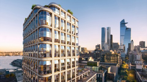Heatherwick's High Line condos named Lantern House after bulging windows 希瑟威克(Helatherwick)的高線公寓在窗戶凸出後被命名為燈籠屋