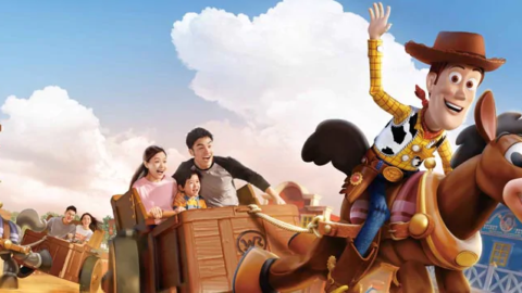 Shanghai Disneyland-Woody's Roundup 上海迪士尼-胡迪嘉年華