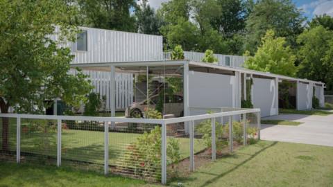 AHMM unveils shipping-container housing development in Oklahoma AHMM在俄克拉荷馬州啟動了運輸集裝箱住房開發