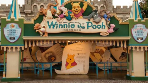 Hong Kong Disneyland – The Many Adventures of Winnie the Pooh 香港迪士尼樂園 – 小熊維尼歷險之旅