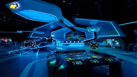 Shanghai Disneyland-TRON Realm, Chevrolet Digital Challenge上海迪士尼樂園 –  TRON Realm,雪佛蘭數字挑戰賽