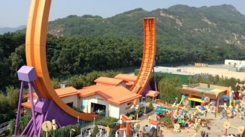 Hong Kong Disneyland – RC Racer 香港迪士尼 – 沖天遙控車