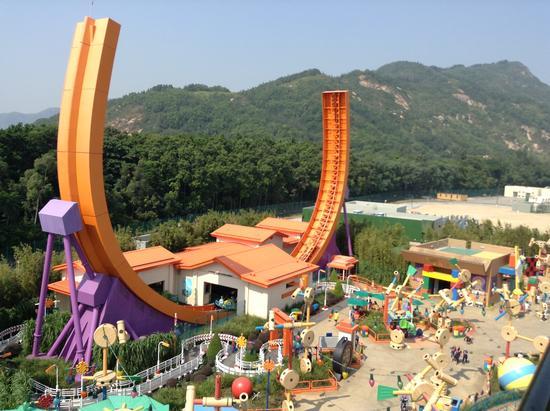 Hong Kong Disneyland – RC Racer 香港迪士尼– 沖天遙控車| FutureView360 未來視角