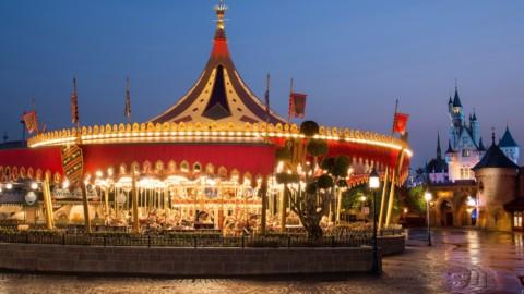 Hong Kong Disneyland – Cinderella Carousel 香港迪士尼樂園 – 灰姑娘旋轉木馬