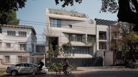 Studio Rick Joy designs concrete apartment complex in Mexico City's Polanco neighbourhood Rick Joy工作室在墨西哥城Polanco附近設計混凝土公寓大樓