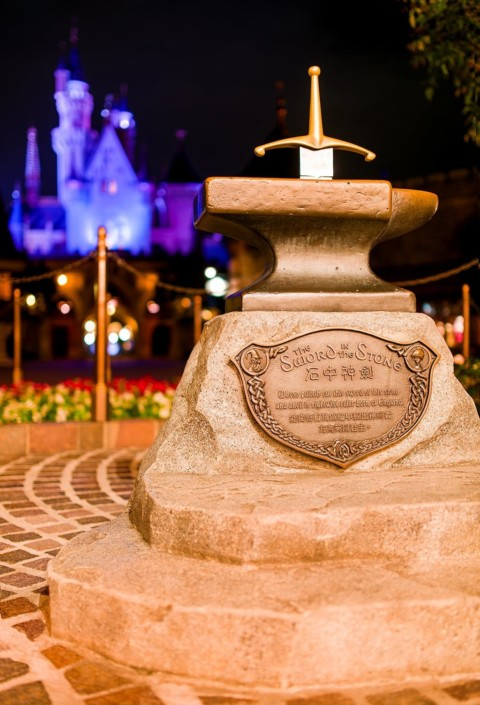 Hong Kong Disneyland – Sword in the Stone 香港迪士尼樂園 – 石頭之劍