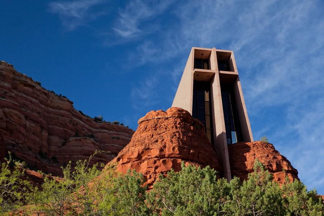 Chapel Of The Holy Cross Sedona Arizona 聖十字教堂(亞利桑那州塞多納