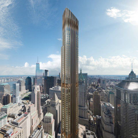 Construction on CetraRuddy's supertall tower in Downtown Manhattan is postponed indefinitely 曼哈頓市中心CetraRuddy的超高層塔樓的建設被無限期推遲