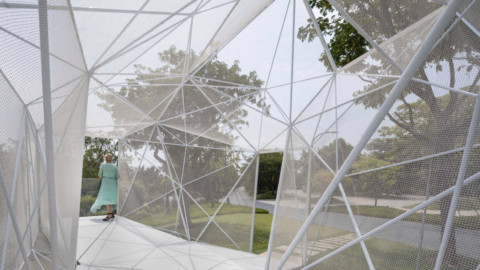AIRLAB 3D prints stainless steel pavilion for Singapore's Gardens by the Bay|AIRLAB 3D為新加坡濱海灣花園打印不銹鋼展館