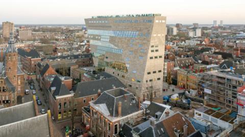 "NL Architects unveils Forum Groningen as a ""cultural department store""|NL建築師事務所宣布格羅寧根論壇為""文化百貨商店"""