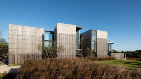 Bates Masi designs Kiht'han house on Long Island to endure periodic flooding 貝茨·馬西(Bates Masi)在長島上設計了基特漢(Kiht'han)房屋,以防洪水氾濫