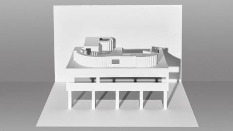 Marc Hagan-Guirey uses kirigami to recreate Le Corbusier's buildings in paper 馬克·哈根·居里(Marc Hagan-Guirey)使用激進摺紙在紙上重建勒·柯布西耶(Le Corbusier)的建築物