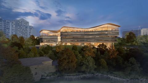 Diamond Schmitt Architects designs Ottawa public library and archive centre with wavy roof Diamond Schmitt Architects設計了帶有波浪形屋頂的渥太華公共圖書館和檔案中心
