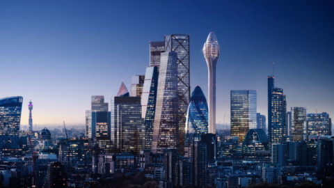 Foster + Partners launches appeal for rejected Tulip tower in London|Foster + Partners呼籲在倫敦拒絕鬱金香大廈