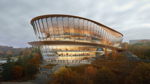 wHY Architecture reveals design for opera house in Russia |wHY建築揭示了俄羅斯歌劇院的設計
