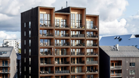 CF Møller Architects reveals Sweden's tallest timber building|CFMøller建築師揭示了瑞典最高的木結構建築
