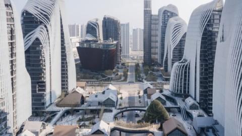MAD Architects' Nanjing Zendai Himalayas Center Nears Completion in China|MAD Architects的南京證大喜馬拉雅山中心在中國即將竣工
