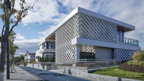 Wenzhou Ou-river Crystal Boxes Restaurant |AntiStatics Architecture
