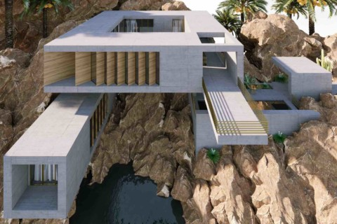 Rocky Shore House|Wafai Architecture