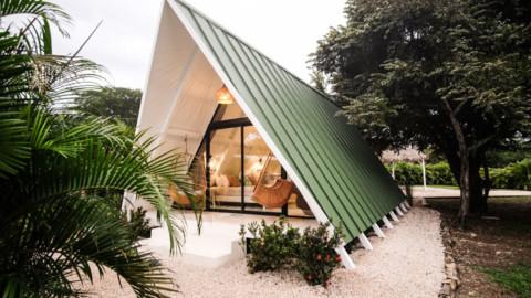 A FRAME Cabin M&K | MICHERON STUDIO