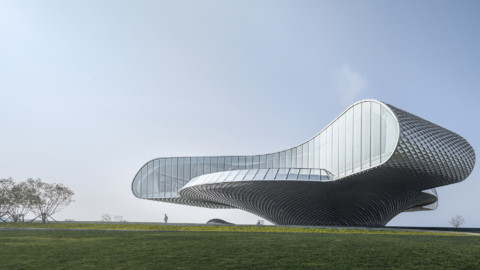 Shimao-The Wave Showroom|Lacime Architects