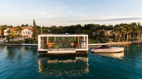 Waterstudio.NL designs yacht villa that can be raised out of the water|Waterstudio.NL設計了可以從水里抬起的遊艇別墅