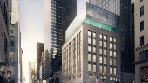 OMA designs glass volume to top Tiffany & Co's New York flagship store OMA設計蒂芙尼公司紐約旗艦店的玻璃量