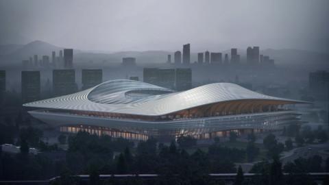 Xi'an International Football Centre|Zaha Hadid