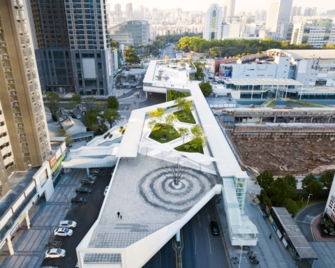 Floating Archipelago, Pedestrian Bridge Design | FCHA