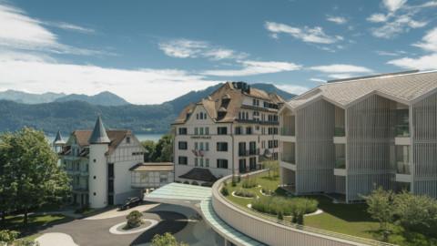 Chenot Palace Weggis Health Wellness Hotel | Davide Macullo Architects