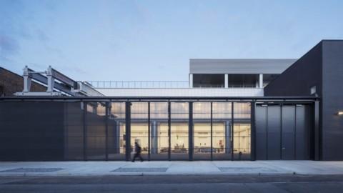 Andrew Berman Architect creates industrial facility and studio for stone sculptor Barry X Ball 安德魯·伯曼(Andrew Berman)建築師為石雕家Barry X Ball創建了工業設施和工作室