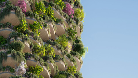 Koichi Takada unveils plant-covered Urban Forest housing high rise for Brisbane|高田耕一(Koichi Takada)為布里斯班揭露了植物覆蓋的城市森林房屋高層建築