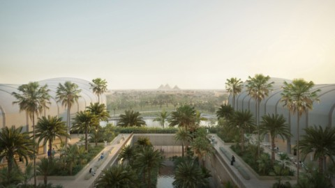"Foster + Partners' Cairo hospital embodies ""latest research on biophilia""