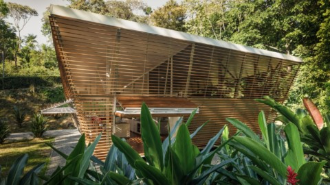 No Footprint House is a prototype prefabricated home in Costa Rica|No Footprint House是哥斯達黎加的預製房屋原型