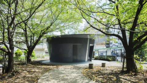 Tadao Ando creates circular public toilet surrounded by cherry trees in Tokyo|安藤忠雄在東京創建了被櫻桃樹包圍的圓形公共廁所