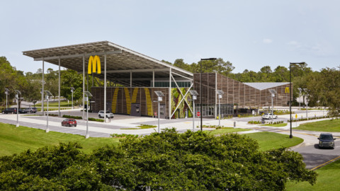McDonald's Global Flagship at Walt Disney World Resort | Ross Barney Architects