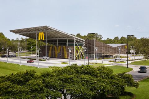 McDonald's Global Flagship at Walt Disney World Resort   Ross Barney Architects