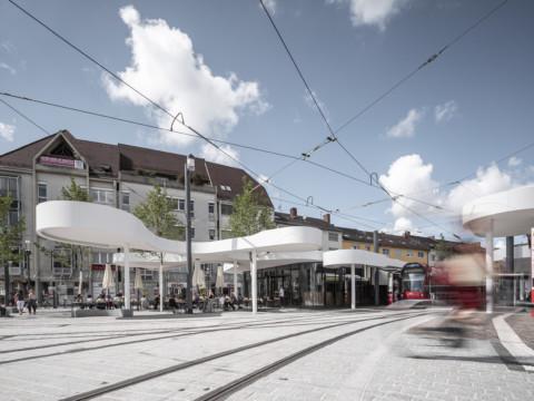 Pavilion on Europaplatz | J. Mayer H